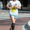 ExoSym Leg Brace Patient Beth Shaver Running a Marathon